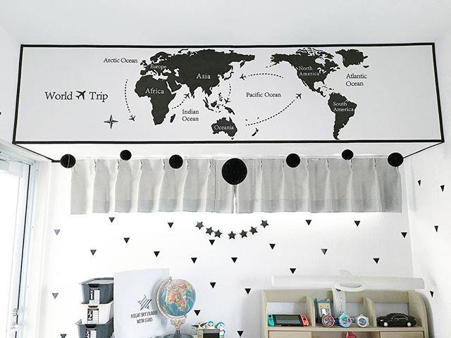 男の子が喜ぶ世界地図