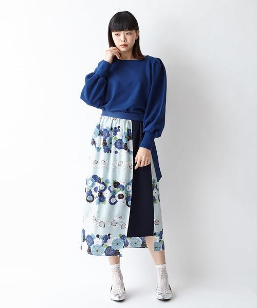 [ふりふ] 【ふりふオリジナルプリント】セットスカート
