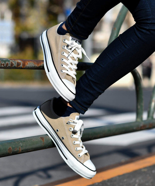[CHAPTER WORLD] CONVERSE ALL STAR COLORS OX (ベージュ) 32860669