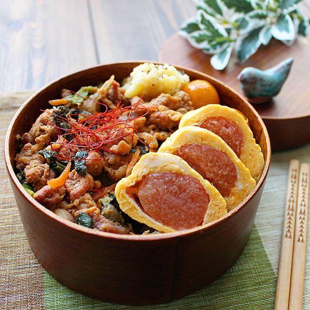豚バラのお弁当レシピ《炒め物》
