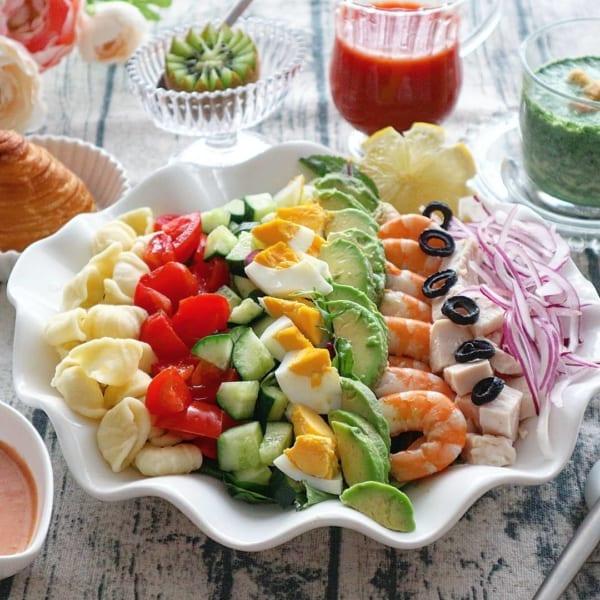 ハヤシライスにおすすめの付け合わせレシピ《サラダ》