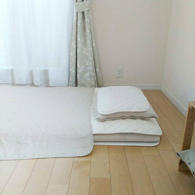 ナチュラルカラーの寝具