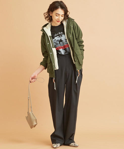 [BEAUTY&YOUTH UNITED ARROWS] 【WEB限定】by ※∴ボアライナーマウンテンパーカー -3WAY/ウォッシャブル-