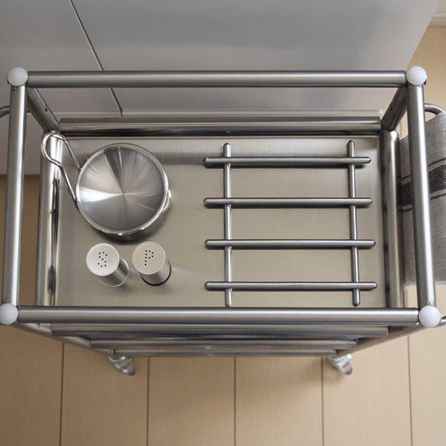 キッチン小物の収納にはGRUNDTAL(グルンドタール)