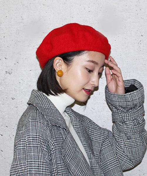 [TONE] 【TONE SELECT BERET】ウールベレー帽