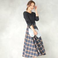 《チェックスカート》がかわいい♡冬に似合うチェックスカートコーデ♡