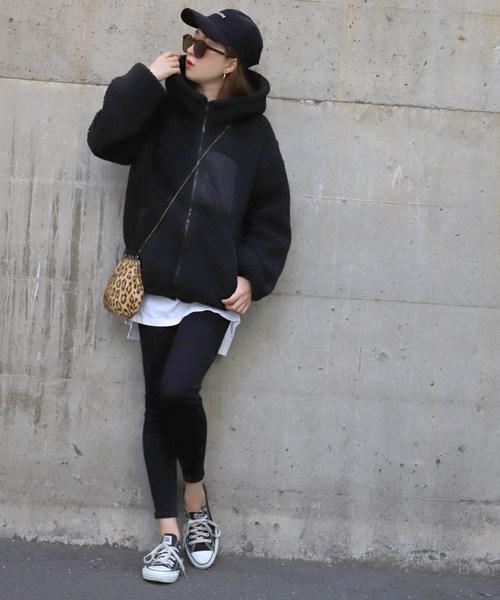 【北海道】4月に最適な服装:パンツコーデ4