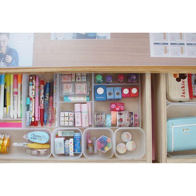 子供の文房具も見やすく整理収納