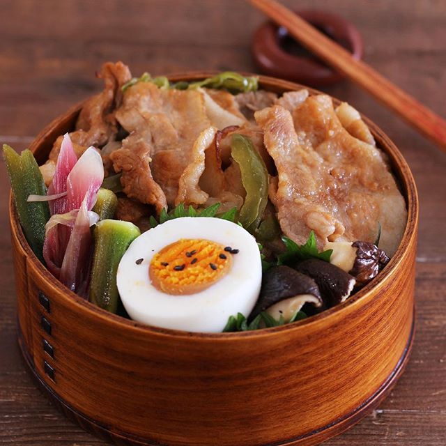 豚バラのお弁当レシピ《焼き物》3