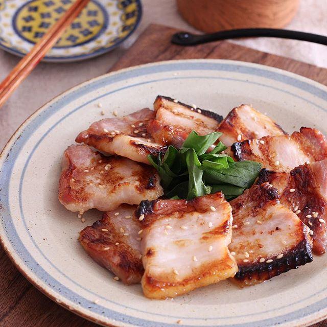 豚バラのお弁当レシピ《焼き物》4