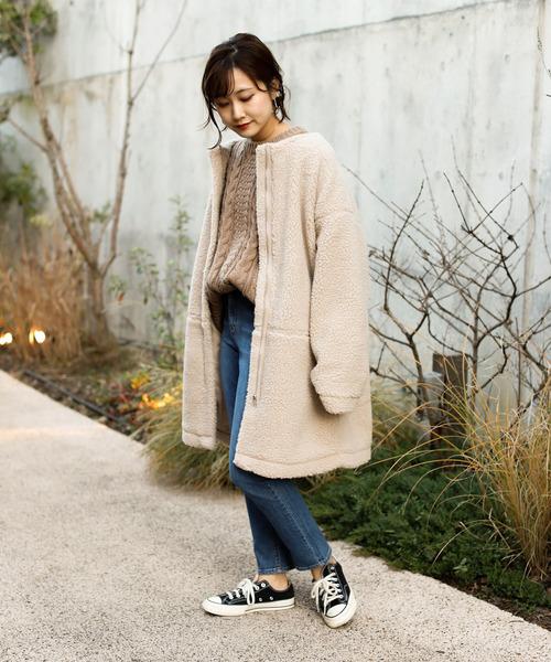 【北海道】4月に最適な服装:パンツコーデ2