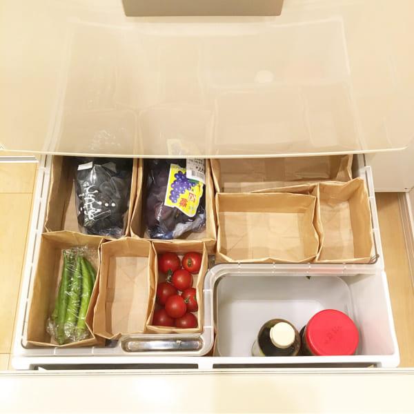 100均 冷蔵庫収納12