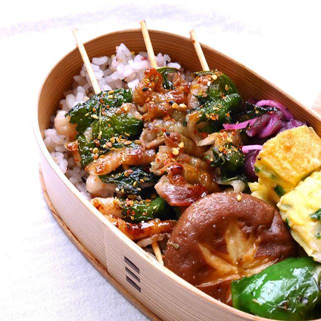 豚バラのお弁当レシピ《焼き物》5