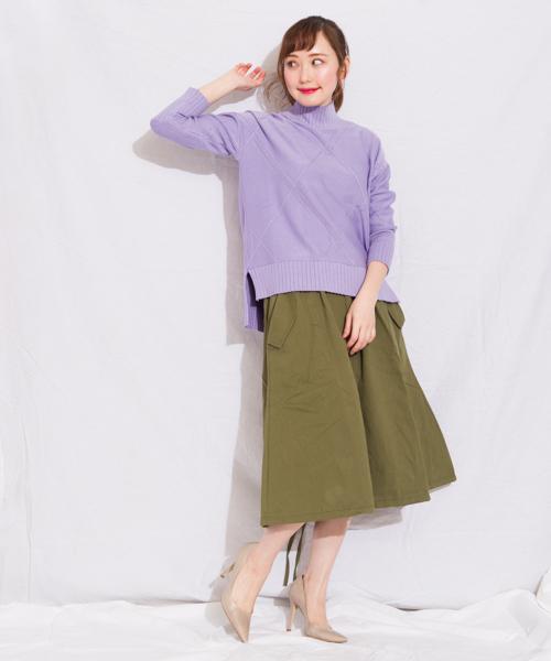 [GGD] 裾絞りバルーンスカート