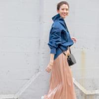 【2020春】ピンクのプリーツスカートで好感度UP♪トレンドコーデを大特集