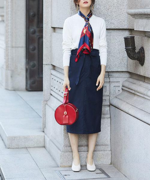 [tocco closet] スリットタイトスカート