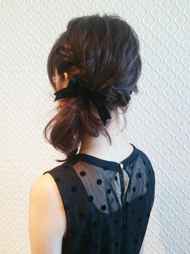 入園式におすすめのママの髪型《ミディアム》5