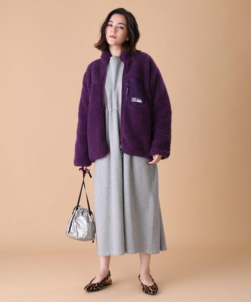【北海道】4月に最適な服装:ワンピースコーデ4