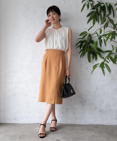 【夏】タイトスカート×ビジネスカジュアル