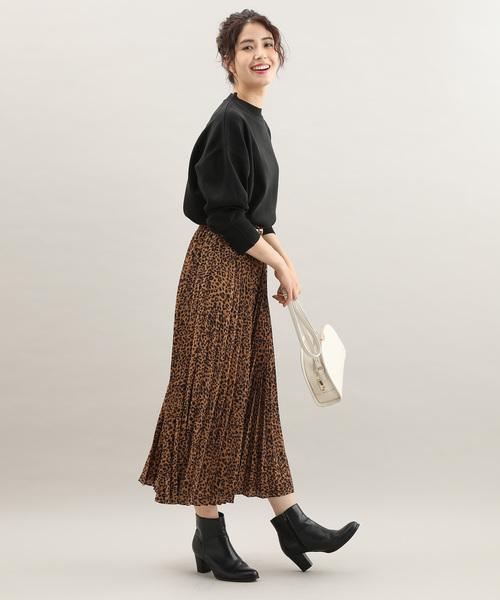 [ViS] 柄アソートアコーディオンプリーツスカート