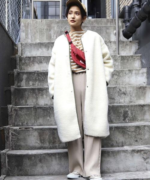 【北海道】4月に最適な服装:パンツコーデ7