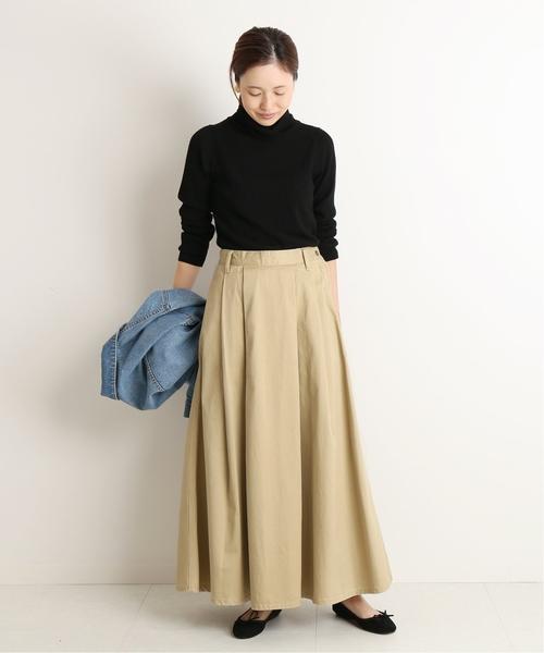 [IENA] LEE×SLOBE別注プリーツスカート◆