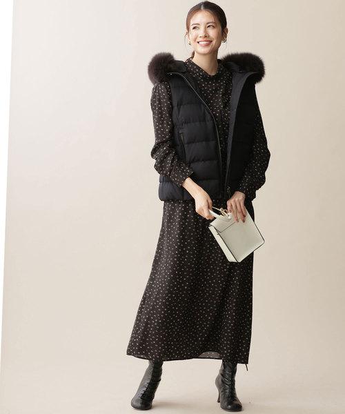【軽井沢】4月に最適な服装:ワンピースコーデ