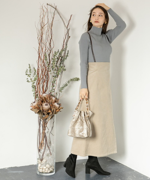 [SENSE OF PLACE by URBAN RESEARCH] 2WAYギャザーショルダーバッグ