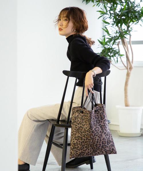 [coen] 【ムック本掲載】スクエアトートバッグ