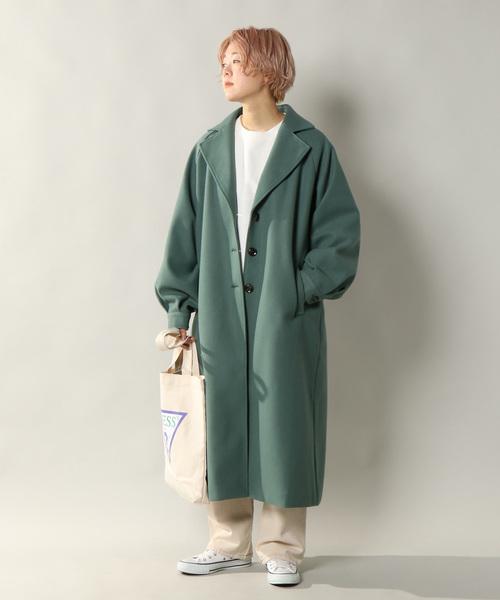 【北海道】4月に最適な服装:パンツコーデ9