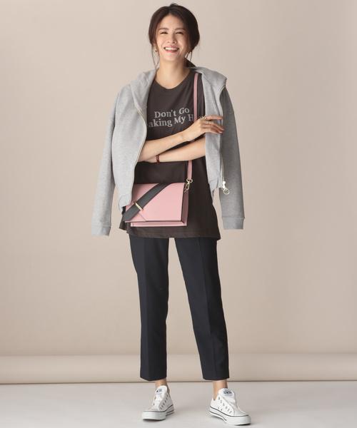 【軽井沢】4月に最適な服装:パンツコーデ8