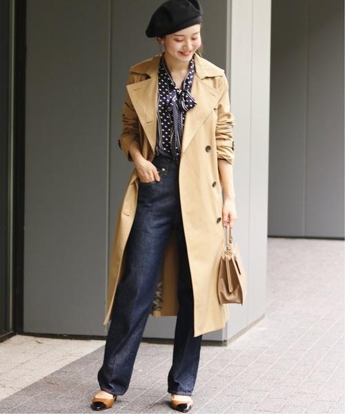 【東京】4月に最適な服装:パンツコーデ6