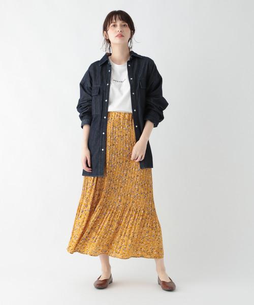 [studio CLIP] BIGデニムシャツジャケット