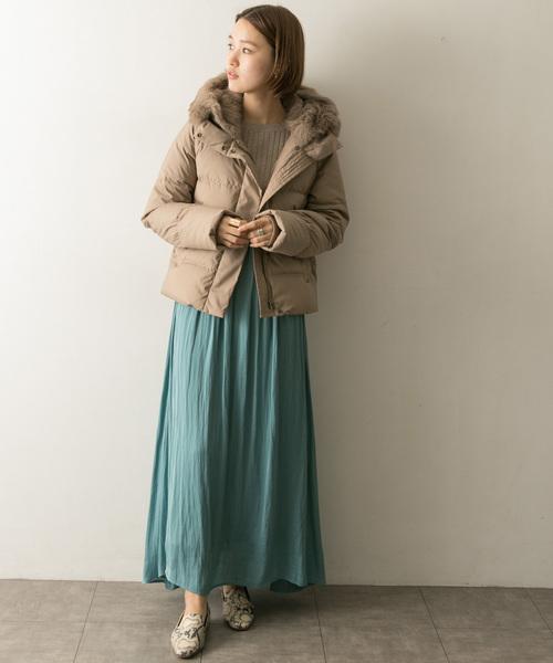 【北海道】4月に最適な服装:スカートコーデ2