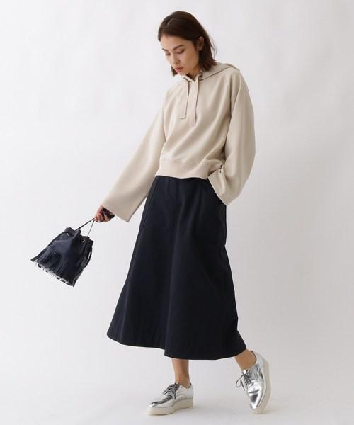 [aquagirl] ビッグポケットAラインスカート