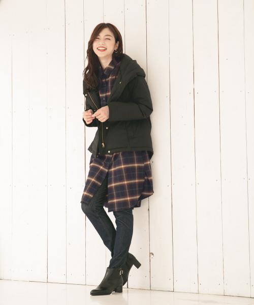【北海道】4月に最適な服装:ワンピースコーデ2