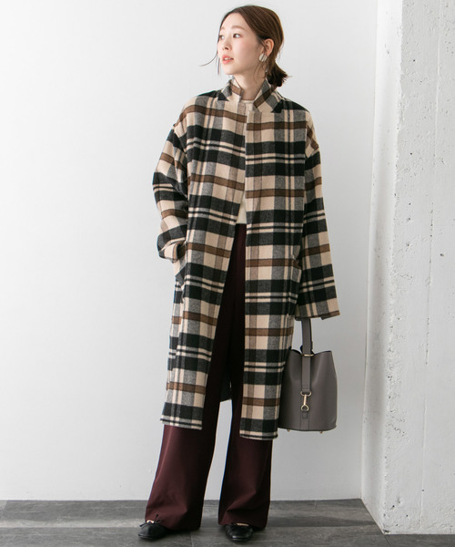 [URBAN RESEARCH ROSSO WOMEN] リバーシブルコート