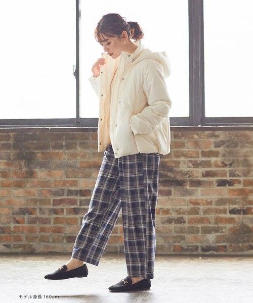 【北海道】4月に最適な服装:パンツコーデ5