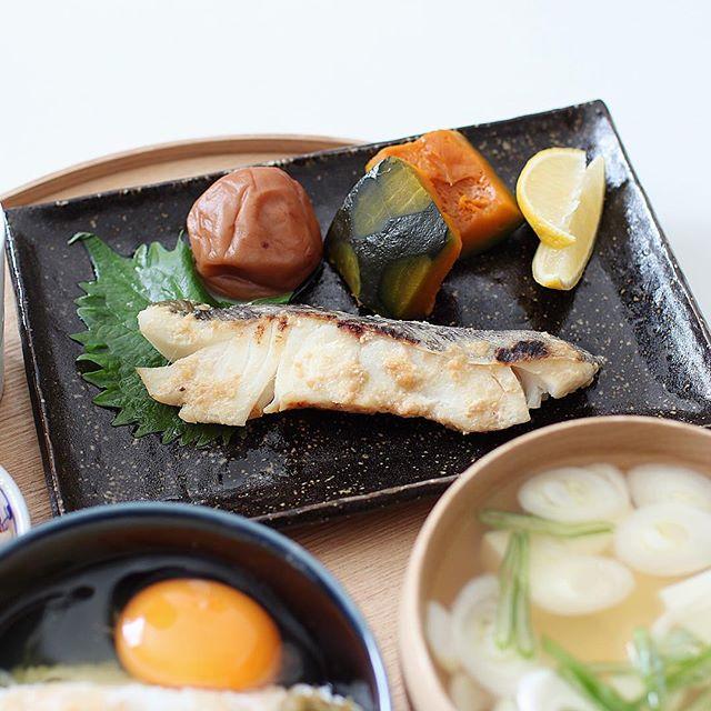 豚キムチ丼と付け合わせに!タラの簡単味噌焼き