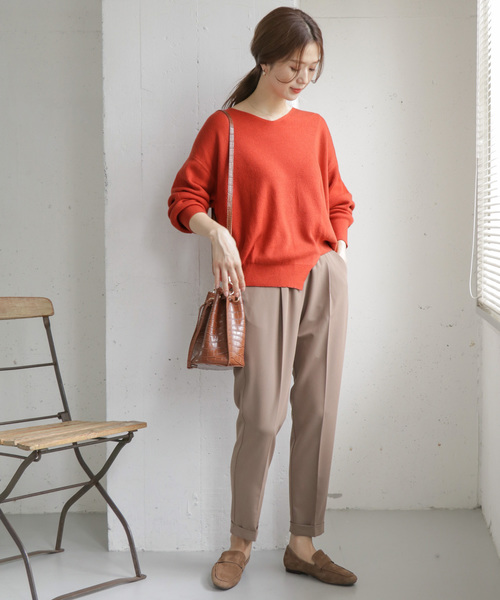 [URBAN RESEARCH DOORS] アシメヘムKNIT