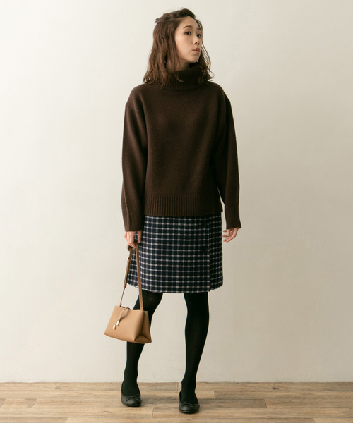 [URBAN RESEARCH ROSSO WOMEN] F by ROSSO リバーシブルタイトスカート