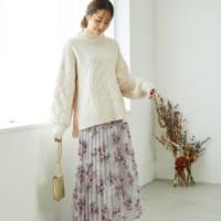 冬の女っぽコーデ♡「スカート」で作るレディな冬コーデ15選
