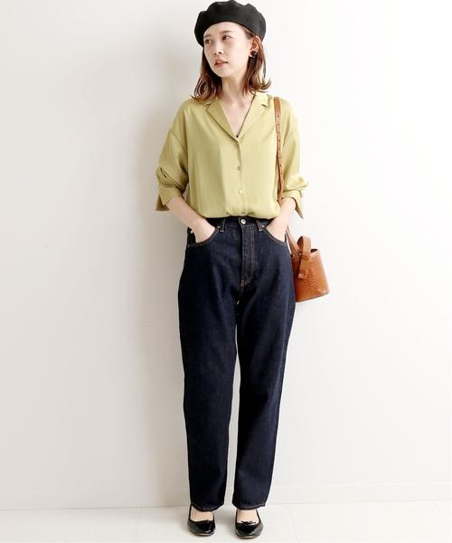 【東京】4月に最適な服装:パンツコーデ2