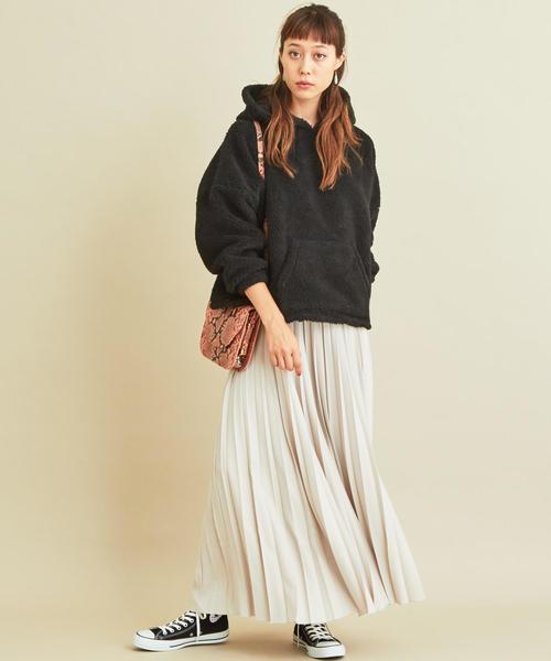 【軽井沢】4月に最適な服装:スカートコーデ7