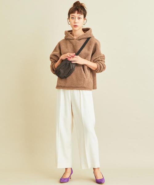 【軽井沢】4月に最適な服装:パンツコーデ6