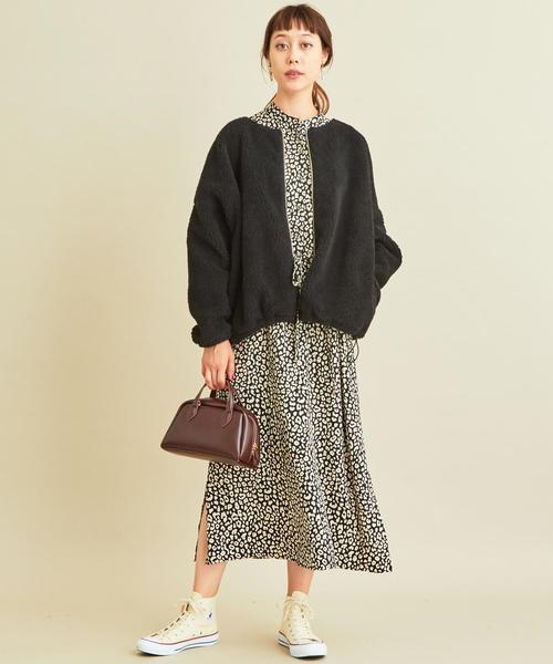 【軽井沢】4月に最適な服装:ワンピースコーデ3