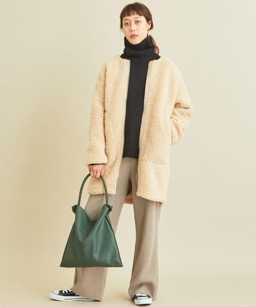 【軽井沢】4月に最適な服装:パンツコーデ4