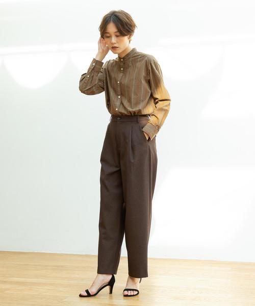 [coen] 【WEB限定追加生産・ムック本掲載】ブロードバンドカラー ロングシャツ