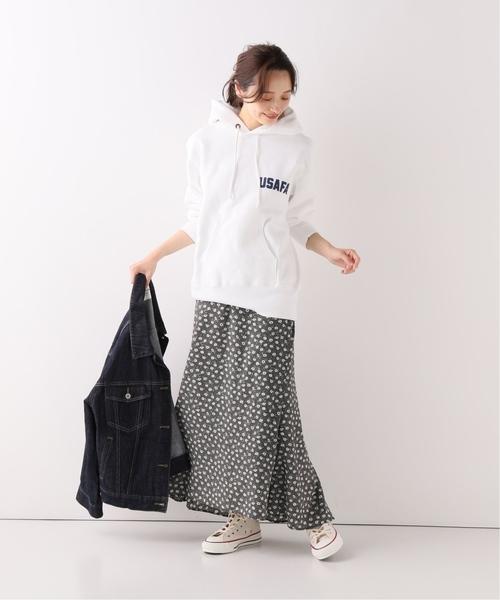【軽井沢】4月に最適な服装:スカートコーデ8