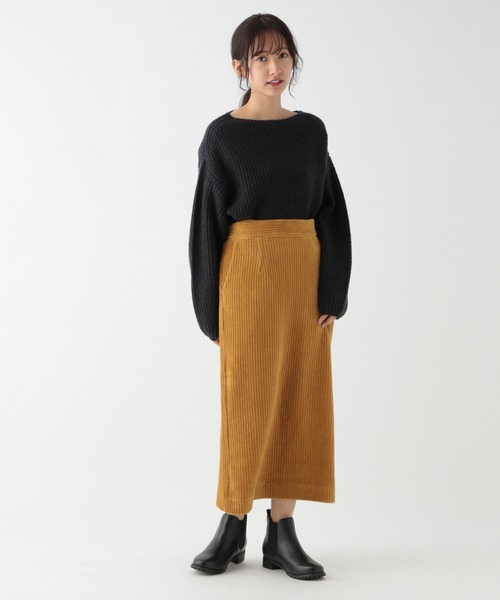 [studio CLIP] カラーコールタイトスカート[プチサイズ]